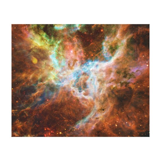 The Tarantula Nebula 30 Doradus NGC 2070 Canvas Print