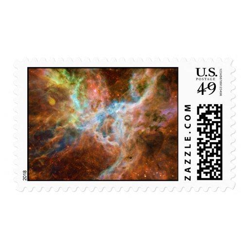The Tarantula Nebula 30 Doradus NGC 2070 Postage Stamps