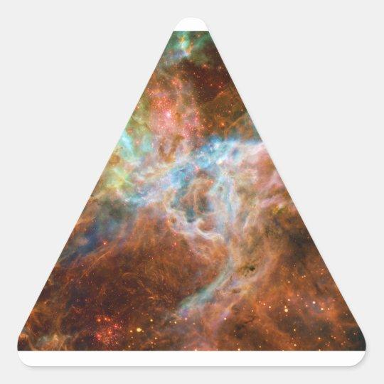 The Tarantula Nebula 30 Doradus NGC 2070 Triangle Sticker