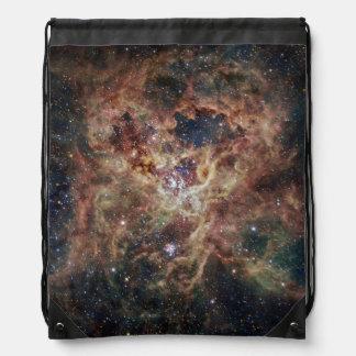 The Tarantula Nebula Drawstring Bag