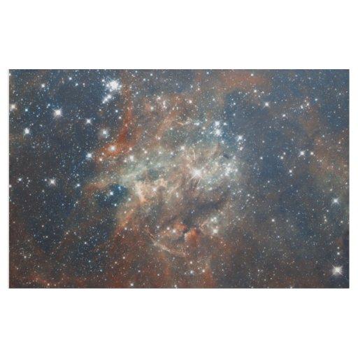 The tarantula nebula fabric zazzle for Nebula fabric by the yard