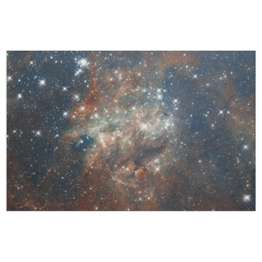 The tarantula nebula fabric zazzle for Nebula fabric
