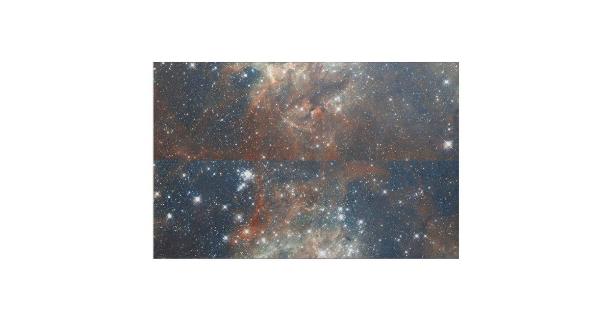 The tarantula nebula fabric for Nebula print fabric