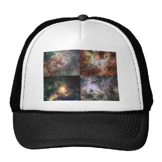 The Tarantula Nebula - Four Views Trucker Hat