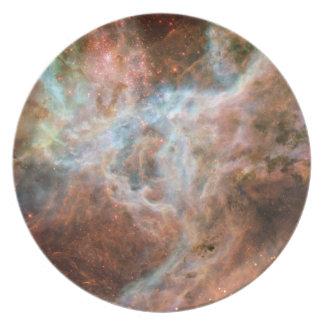 The Tarantula Nebula - Frame 1 Melamine Plate