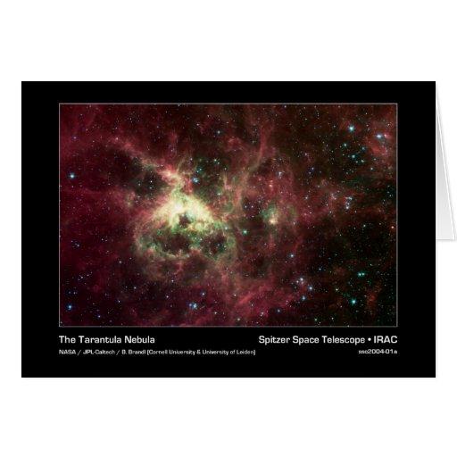 The Tarantula Nebula – Spitzer Space Telescope – I Cards