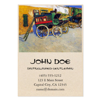 The Tarascon Diligence Vincent Van Gogh Large Business Cards (Pack Of 100)