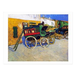 The Tarascon Diligence Vincent Van Gogh Postcard