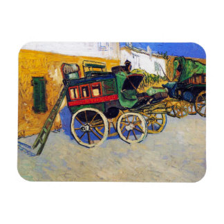 The Tarascon Diligence Vincent Van Gogh Magnets