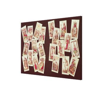 The tarot cards of the Major Arcana Canvas Print