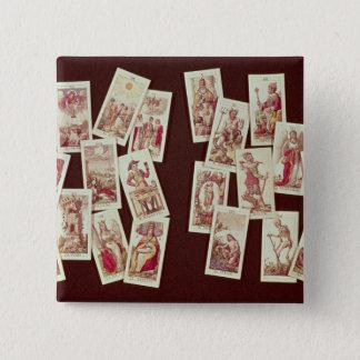 The tarot cards of the Major Arcana Pinback Button