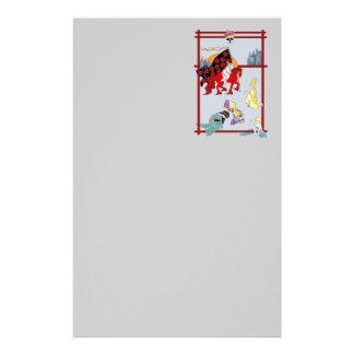 The Tarot Death Card Custom Stationery