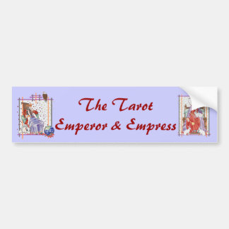 The Tarot Empress Bumper Sticker