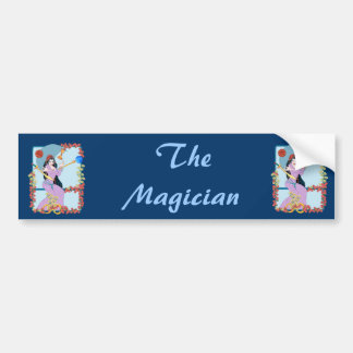 The Tarot Magician Car Bumper Sticker