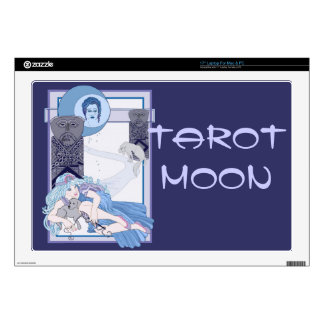 """The Tarot Moon Decal For 17"""" Laptop"""