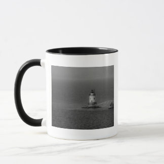 The Tarrytown Lighthouse Mug - b/w