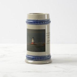 The Tarrytown Lighthouse Stein 18 Oz Beer Stein