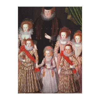 The Tasburgh Group: Lettice Cressy Canvas Print