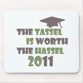 The Tassel is Worth the Hassel Mouse Pad