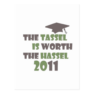 The Tassel is Worth the Hassel Postcard