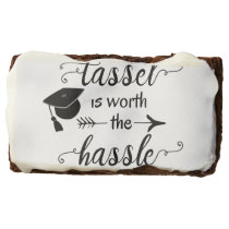 The tassel is worth the hassle brownie