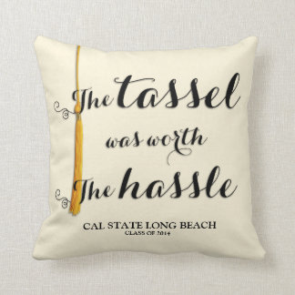 The Tassel is Worth the Hassle Pillows