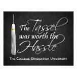 The Tassel Was Worth the Hassle College Graduation Invitations