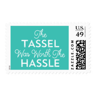 The Tassel Was Worth The Hassle | Turquoise Postage