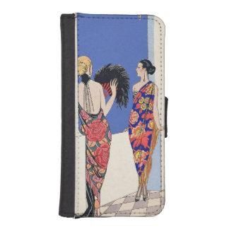 The Taste of Shawls, 1922 (pochoir print) iPhone SE/5/5s Wallet Case