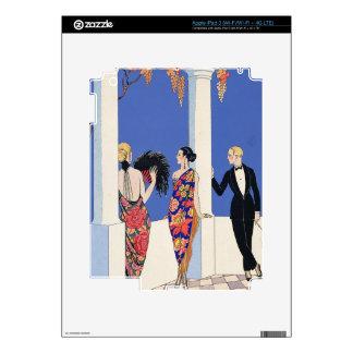 The Taste of Shawls, 1922 (pochoir print) Skins For iPad 3
