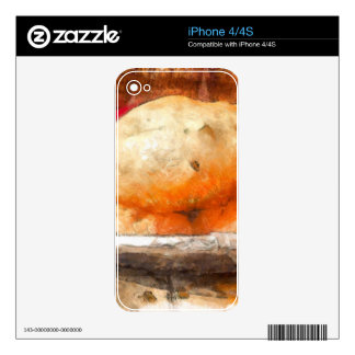 The tasty Bhatura iPhone 4S Skins