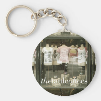The Tattle of Tees Key Chain