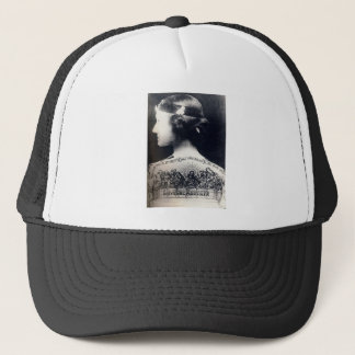 The tattooed flapper - love one another trucker hat
