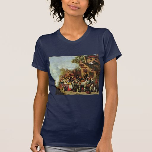"""The Tavern, """"The Crescent"""" """" By Molenaer Jan Miens Shirt"""