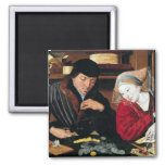 The Tax Collector 2 Inch Square Magnet