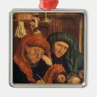 The Tax Collectors, 1550 Metal Ornament
