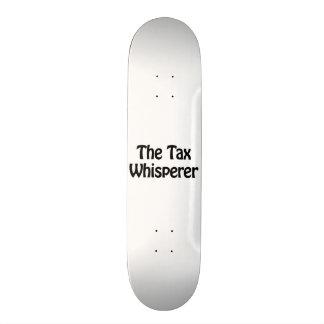 the tax whisperer skateboard