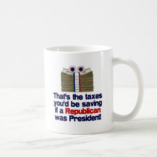 The Taxes You'd Save Mugs