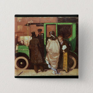 The Taxi Cab, c.1908-10 Button