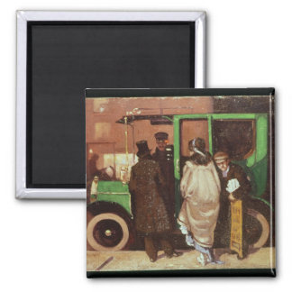 The Taxi Cab, c.1908-10 Magnet