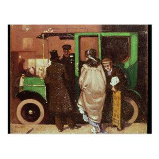 The Taxi Cab, c.1908-10 Postcard