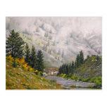 The Taylor Oil Landscape Painting Postcard