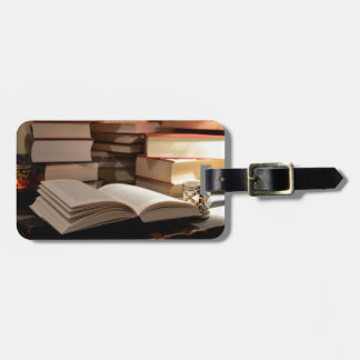 The TBR Book Stack Bag Tag