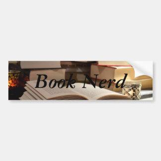 The TBR Book Stack Bumper Sticker