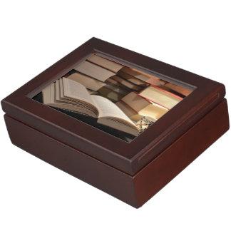 The TBR Book Stack Keepsake Box