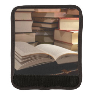 The TBR Book Stack Luggage Handle Wrap
