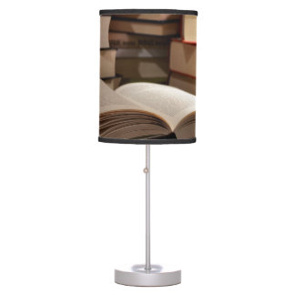 The TBR Book Stack Table Lamp