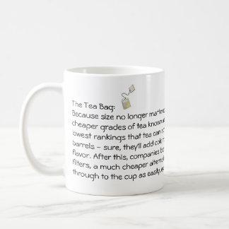 The Tea Bag Classic White Coffee Mug