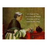 The Tea Drinker 1735 Post Card