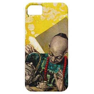 The Tea Man by Michael Moffa iPhone SE/5/5s Case